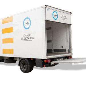 Alquilar Ford Transit y Renault Master Caja Elevador