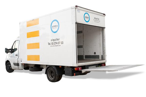 Alquiler Camión Ford Transit Caja Elevador y Renault Master Caja Elevador