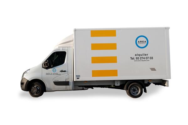 Alquilar camión Renault Master Caja barcelona