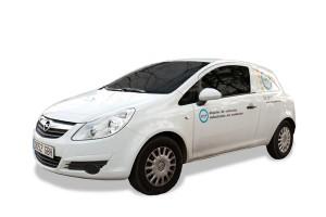 Alquiler Furgoneta Opel Corsa Van