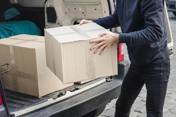 mudanza con una furgoneta de alquiler