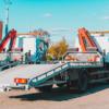 grúa furgoneta