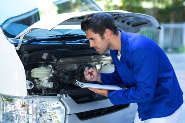 mantenimiento de furgoneta de alquiler